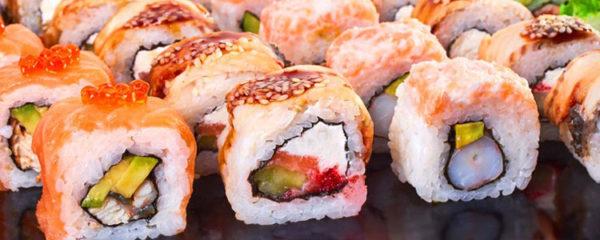 Des sushis à domicile